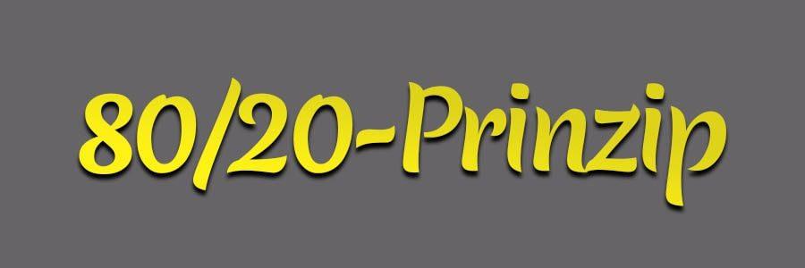 Was ist das Pareto-Prinzip, auch bekannt als 80-20-Regel? | Peter R. Stuhlmann